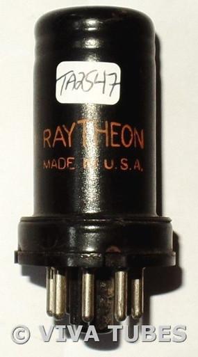 Raytheon USA 6SC7 Metal Vacuum Tube 83/93%