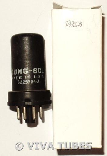 1957 Vintage Tung-Sol USA 6SJ7 Metal Vacuum Tube 88%