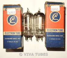 NOS NIB Matched Pair RCA Cunningham 1S4 [DL1] Zenith Transoceanic Vacuum Tubes
