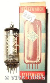NOS NIB Telefunken Germany DF96 [1AJ4] Silver Plate Top O Get Vacuum Tube 100+%
