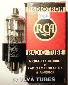 NOS NIB RCA Victor USA 1D8GT Silver Plate BTM [] Get Vacuum Tube 100+%