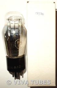 NIB NOS Ken-Rad USA 1H4G Silver Plate BTM D Foil Get Vacuum Tube