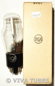 NOS NIB RCA USA 1H4G Silver Plate BTM [] Get Vacuum Tube
