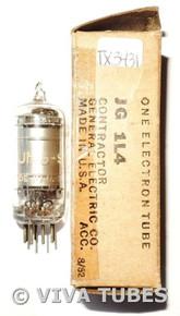 NOS Vintage Tung-Sol USA JTL-1L4 [DF92] Silver Plate 3 Mica Vacuum Tube