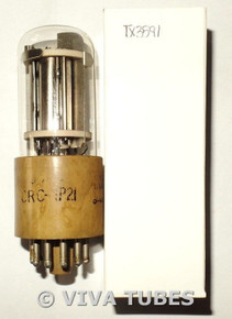 RCA USA JAN-CRC-1P21 Silver Plate Top Get Photomultiplier Vacuum Tube IP21