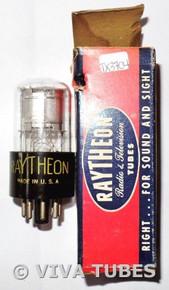 NOS NIB Raytheon USA 1T5GT Silver Plate BTM [] Get Vacuum Tube