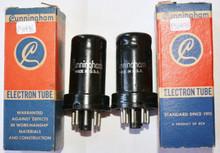 NOS NIB Date Matched Pair RCA USA 12SK7 Metal Vacuum Tube 12SK7 100%+