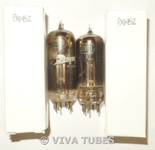 Matched Pair Tung-Sol USA 12BY7A [12BV7 12DQ7] Black P Vacuum Tubes 76% & 95%