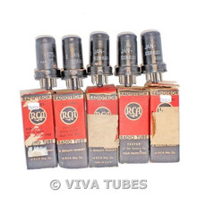 NOS Matched Sleeve (5) Ken-Rad USA JAN-12SH7 / VT-288 Vacuum Tubes 100+%