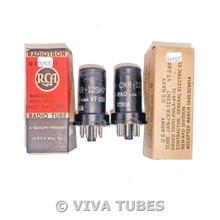 NOS Matched Pair Ken-Rad USA JAN-CKR-12SH7/VT-288 Vacuum Tubes 100+%