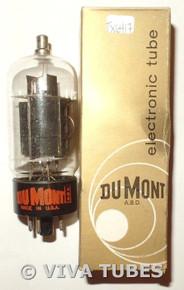NOS NIB Dumont USA 12DQ6A [12GQ6] Black Plate 2 Side O Get Vacuum Tube 100+%