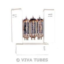 NOS Matched Trio (3) Sylvania USA 50C5 [HL92] Black Plate [] Get Vacuum Tubes