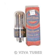 NOS NIB Raytheon USA 117Z6GT 2 Black Plate BTM D Foil Get S-Rods Vacuum Tube