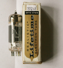 ITT Japan 6AW8A Gray Plate Top O Getter Vacuum Tube 6AW8