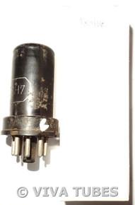 GE USA 6SH7 Metal Rust Vacuum Tube 69%