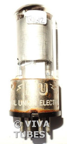 National Union [NU] USA 6SK7GT Silver Smooth Plate Top Get Vacuum Tube 68%