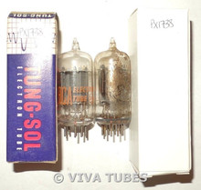 NOS Matched Pair RCA USA 7AU7 Gray Plate Side [] Get Vacuum Tubes 100+%