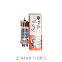 NOS NIB GE Japan 8CG7/8FQ7 2 Grey T Plate Top O Get Vacuum Tube 100+%
