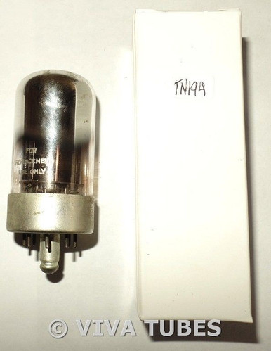 Ken-Rad USA 7F7 Black Plate Top Get Chrome Dome S-Rods Vacuum Tube 66/93%