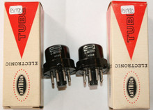 NIB Date Matched Pair Raytheon USA CK709A Vacuum Tube CK-709