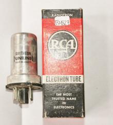NOS Raytheon USA 0Z4 Metal Silver Envelope Vacuum Tube 100%+