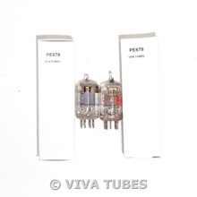 Matched Pair GE USA 6AK5 [EF95] Grey Plate [] Get Little Dot Vacuum Tubes 83%