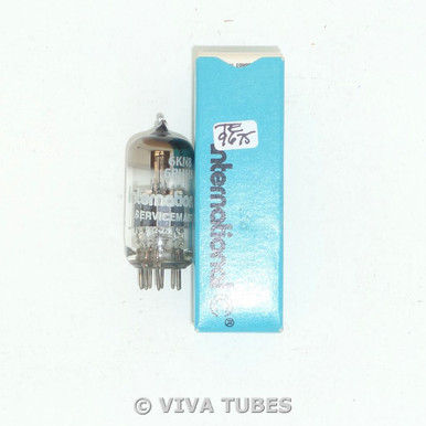 NOS NIB International USA 6KN8 / 6RHH8 [RARE Drop-In 6DJ8 6922 Sub] Vacuum Tube