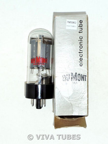 """DuMont USSR (says """"Made in USA"""") 6L6GC Gray Plate Bottom UFO Get Vacuum Tube 96%"""