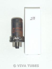 NOS GE USA 6SJ7 Metal Rust Vacuum Tube 100+%