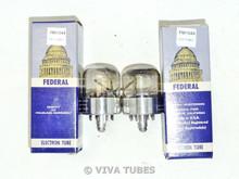 NOS NIB Date Matched Pair Sylvania USA 7F8 [] Get Vacuum Tubes