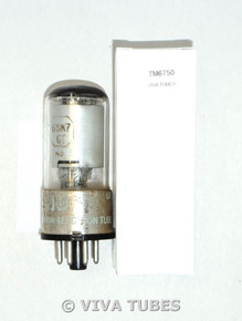National Union NU USA 6SK7GT Silver Smooth Plate Top [] Get Rust Vacuum Tube 78%