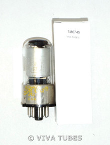 National Union NU USA 6SK7GT Silver Smooth Plate Top [] Get Vacuum Tube 95%