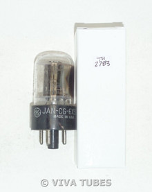 GE USA JAN-CG-6X5GT Black X Plate Side [] Get Vacuum Tube Test= 46/52