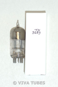 Amperex Holland 12AT7 ECC81 Rare Bent Angle True D Getter Vacuum Tube 102/97%