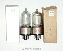 NOS NIB Matched Pair Arcturus USA 12B8GT Mesh Plate D Foil Get Vacuum Tubes