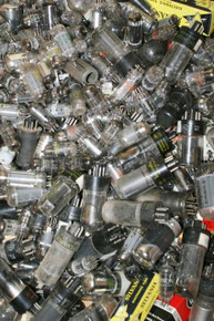 Mixed Grab Bag Lot of 100 USED Vintage Radio TV HAM Vacuum Tubes Valves
