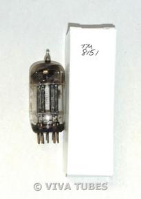 NOS Ken-Rad 12AU7 Long Carbonized Black Plate D Dimple Foil Strip Vacuum Tube