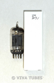 NOS Ken-Rad 12AU7 Long Carbonized Gray Plate True D Dimple Foil Vacuum Tube