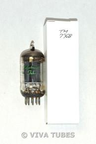NOS Ken-Rad USA 12AU7 Long Carbonized Gray Plate Top Fat D Get Vacuum Tube 100+%