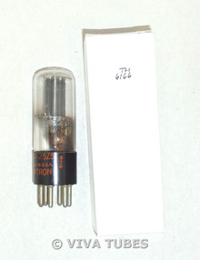 NOS Hytron USA JAN-25Z5 Black Smooth Plate D Foil Get Tubular Vacuum Tube 100+%