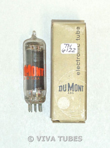 NOS NIB Dumont USA 35B5 Black Smooth Plate Top [] Get Vacuum Tube 100+%