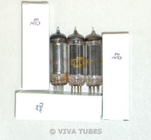 NOS Matched Trio (3) Sylvania USA 50C5 HL92 Black Plate Top O Get Vacuum Tubes