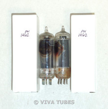 NOS Matched Pair Vintage USA 50C5 [HL92] Black Plate Side [] Get Vacuum Tubes