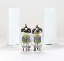 NOS Matched Pair RFT Germany (owned by Telefunken) ECC85 / 6AQ8 Vacuum Tubes