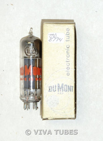 NOS NIB DuMont USA 117Z3 Short Gray Plate Top [] Get S-Rods Vacuum Tube 100+%