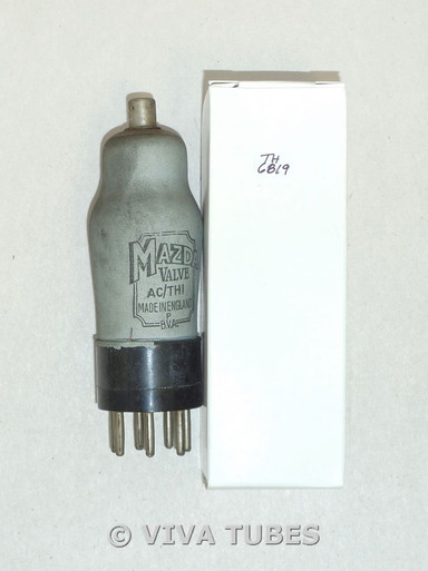 Mazda England AC/THI Lead Shield Coating ST Vacuum Tube