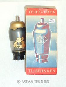 Telefunken West Germany AH1 [TAH1 VX4S TH1] Smoked Gold Shielding Vacuum Tube