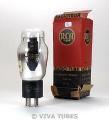 NOS NIB RCA USA 1610 Black Plate D Foil Get Vacuum Tube 100+%