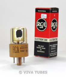 NIB RCA USA 2022 Silver Plate Photocell Brown Base Vacuum Tube