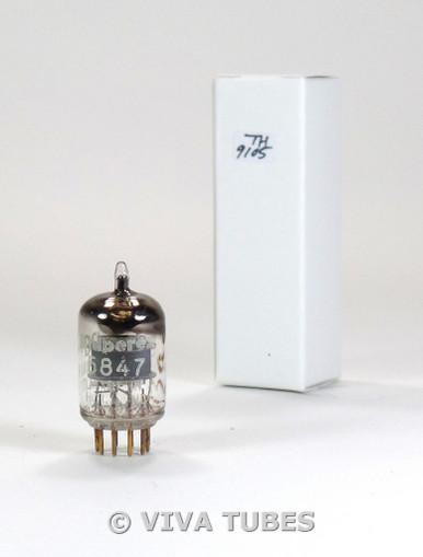 Amperex PQ Holland 5847 [404A] Grey Plate True D Get Gold Pins Vacuum Tube 75%